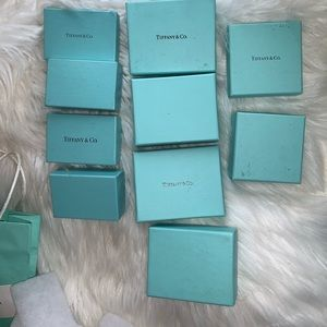 Tiffany boxes & bag. Gently used.
